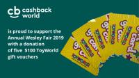 8.Wesley Mission ToyWorld voucher donation